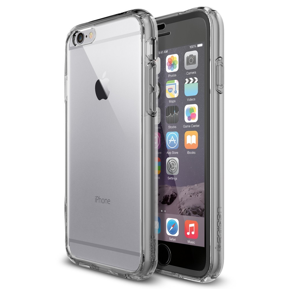 sports shoes 2279f ed52b iPhone 6 Crystal Clear Case - Black
