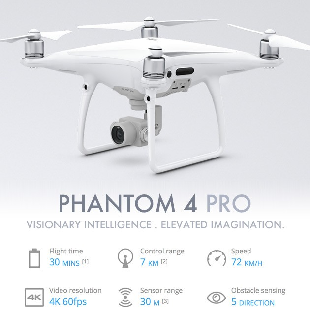 Dji Phantom 4 >> Drone Dji Phantom 4 Pro Resmi Indonesia